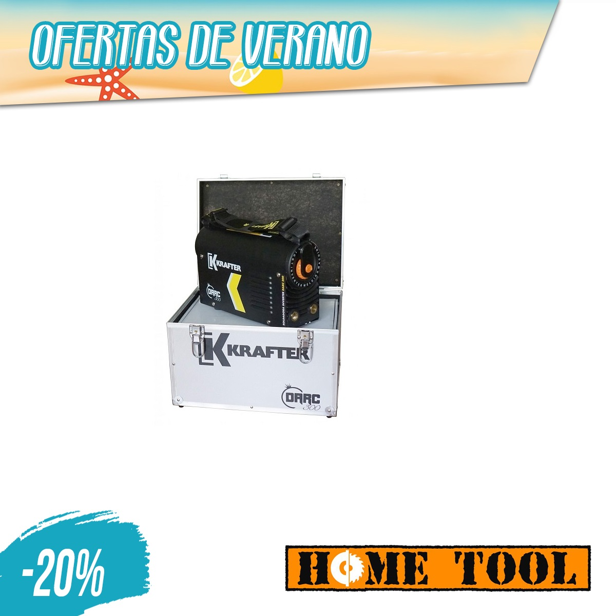 SOLDADORA MMA-LIFT TIG 220A DARC 300 KRAFTER